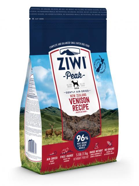 ziw-ipeak-õhk-kuivatatud-koeratoit-hirvega