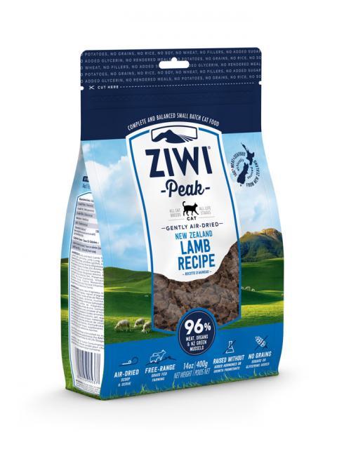 ZIWI Peak õhu käes kuivatatud kassitoit lambalihaga
