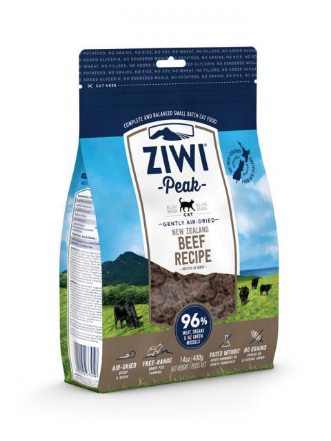 ZIWI Peak õhu käes kuivatatud kassitoit loomalihaga