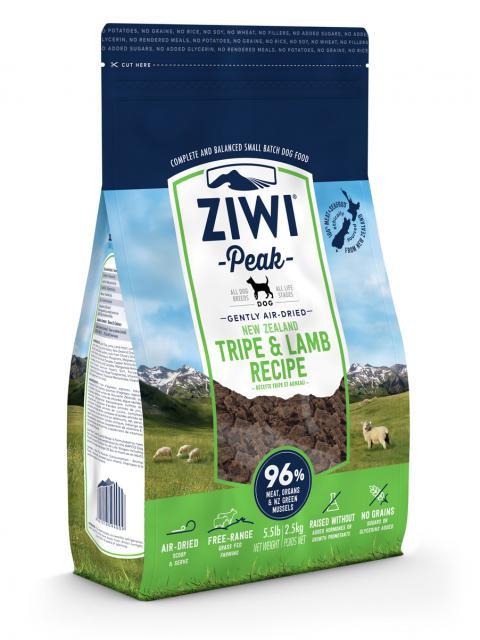 ZIWI Peak õhu käes kuivatatud koeratoit lambamao ja lambalihaga