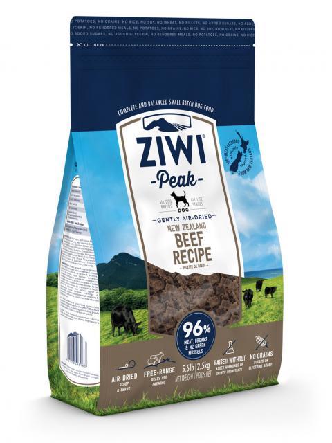 ZIWI Peak õhu käes kuivatatud koeratoit loomalihaga